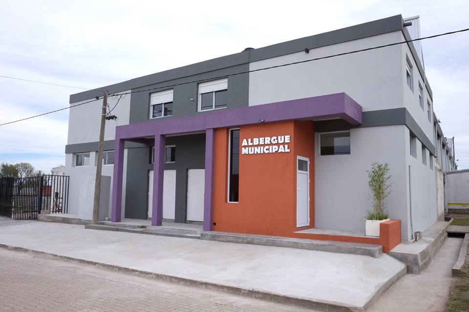 Inauguración Albergue Municipal en Berrotarán