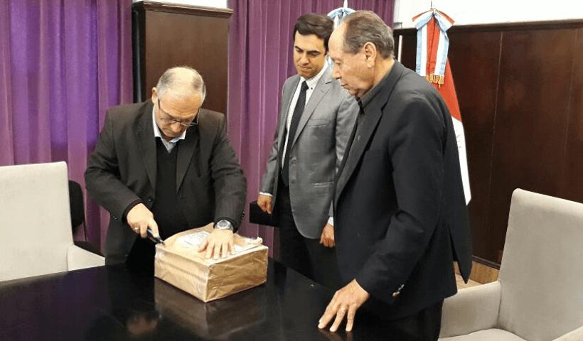 Apertura de Sobres para obra de agua potable en Huinca Renancó