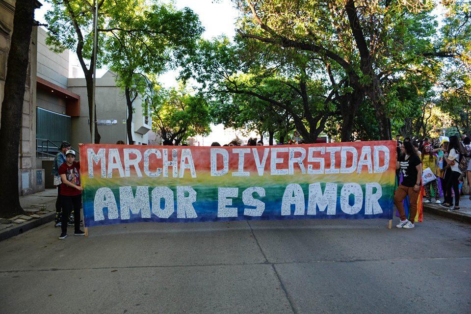 Se realizó la 6º Marcha de la Diversidad