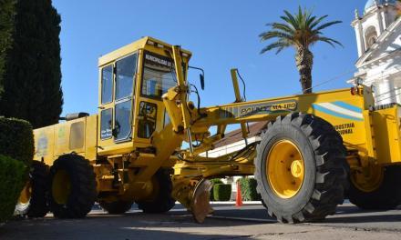 Presentación de maquinarias adquiridas y reparadas en Serrano