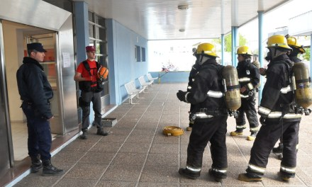 Se realizó con éxito el primer simulacro en el Hospital de Río Cuarto