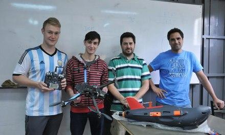 Desarrollan sistemas de detección remota con vehículos aéreos no tripulados