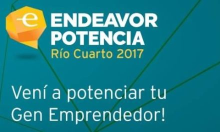 Se viene Endeavor Potencia Río Cuarto 2017