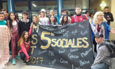 Alumnos de Río Cuarto realizaron viaje de estudio