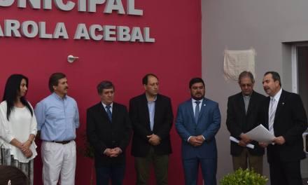 Inauguración del Hogar Municipal «Dr. Luis Rivarola»