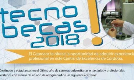 El Ceprocor lanzó tecnobecas para prácticas profesionales