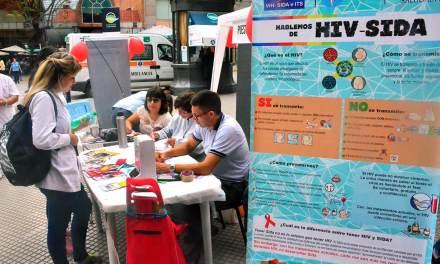 Campaña de Prevención y Detección del HIV en Plaza Roca
