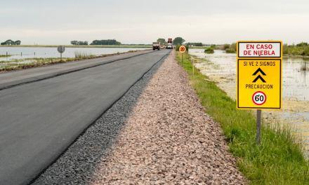 Arias: Quedó habilitada la ruta 8