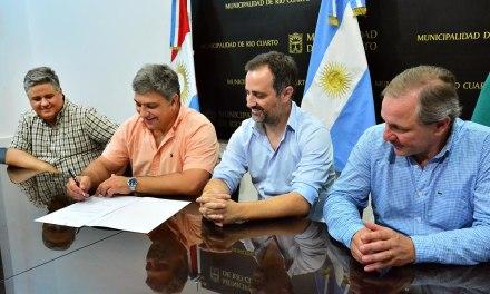 El municipio de Río Cuarto suscribió un contrato con INTERCITY