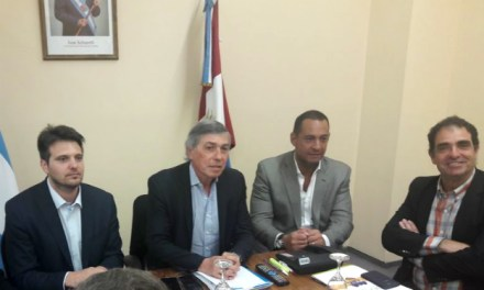El ministro Massei recibió a las nuevas autoridades del COMUPRO