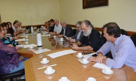 Se rubricó el acta acuerdo de la Creación Mesa del Corredor Chocancharava