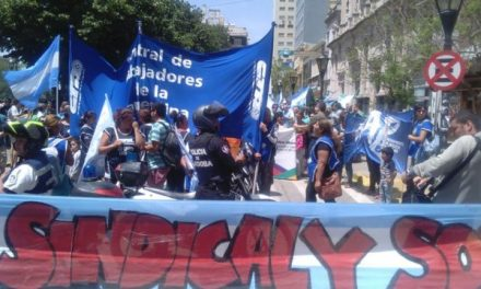 Río Cuarto marchó en contra de la Reforma Previsional