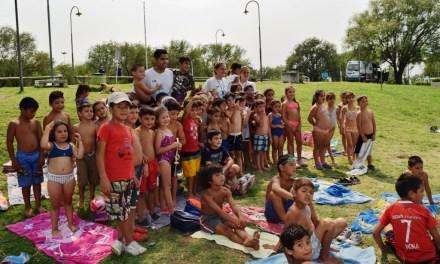 Río Cuarto: Más de 300 chicos disfrutan de la colonia de vacaciones