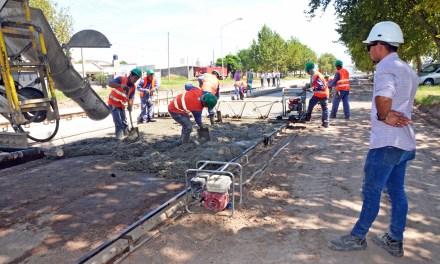 Pavimentación Avenida Colombres: la obra tiene un 25% de avance