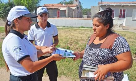 Intervención contra el Dengue en B° Obrero
