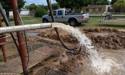 Se realizó una nueva perforación de agua en Reducción