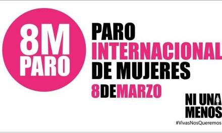 AGD se une al paro internacional de mujeres el 8 de marzo
