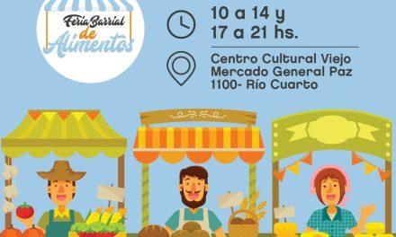 1° Feria Barrial de Alimentos en el Viejo Mercado