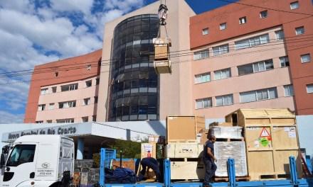 Llegó el nuevo resonador al Hospital San Antonio de Padua