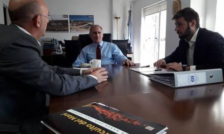 Carasso y Morra se reunieron con el titular de ENOHSA en Buenos Aires