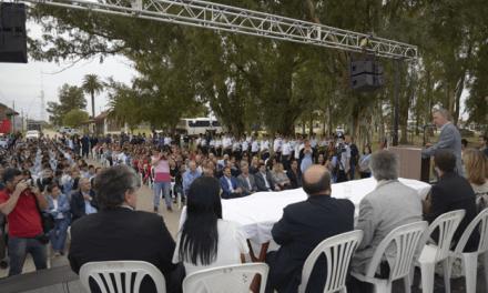 Con la inauguración de una escuela, Schiaretti dio inicio al Ciclo Lectivo 2018