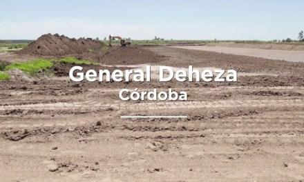 Ampliación del presupuesto para la obra de agua en General Deheza
