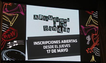 """Aplaudamos a las bandas"": Apoyo a proyectos musicales"
