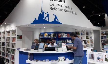 Diversas actividades desplego UniRio Editora en la Feria Internacional del Libro de Buenos Aires