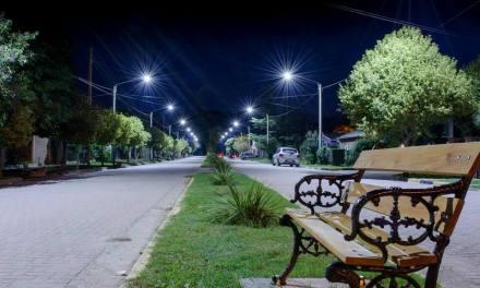 La Cruz: más luminaria Led y cámaras de seguridad