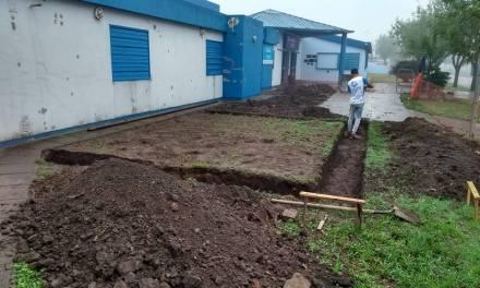 Inició la construcción de 4 nuevas aulas en la Escuela Especial CRECER de Luque