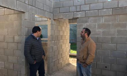 Carnerillo: Viola y Galfré recorrieron obras