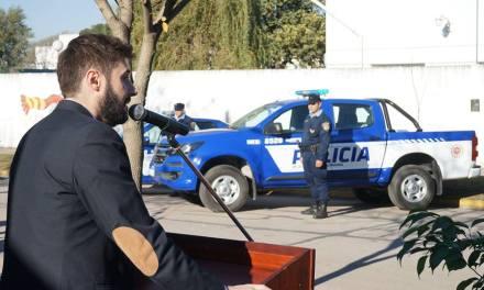 Nuevo móvil policial para la Cooperadora Policial de General Deheza