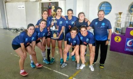 Torneo de voley femenino libre: Río Cuarto obtuvo el tercer lugar
