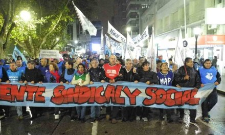 Movilización contra el gobierno nacional en Río Cuarto