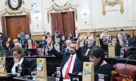 Se realizó ayer la 18º Sesión Ordinaria de la Legislatura de Córdoba