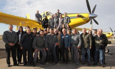 Con nuevo avión, comenzó la campaña provincial contra los incendios forestales