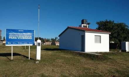 Buchardo: El Municipio entregó Viviendas Sociales