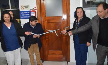 Se inauguró un vacunatorio en el Hospital de Reducción