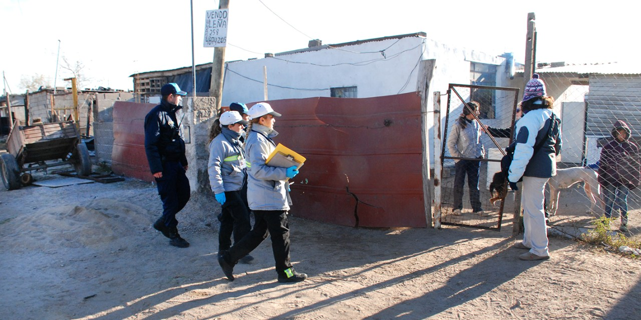 Operativo integral en Barrio Oncativo
