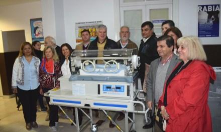 El Hospital Municipal «Juan Bautista Medeot» recibió equipamiento de salud