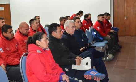 Agentes de Policía y Bomberos se capacitaron en Río Cuarto