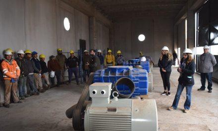Río Cuarto: Capacitación en efluentes cloacales de la Comisión Cuatripartita