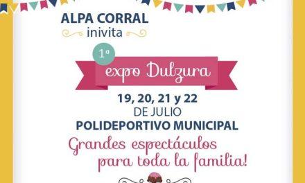 Alpa Corral: comienza la 1° Expo Dulzura