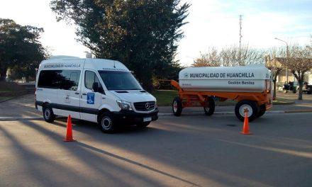 Nueva maquinaria para el Parque Automotor de Huanchilla