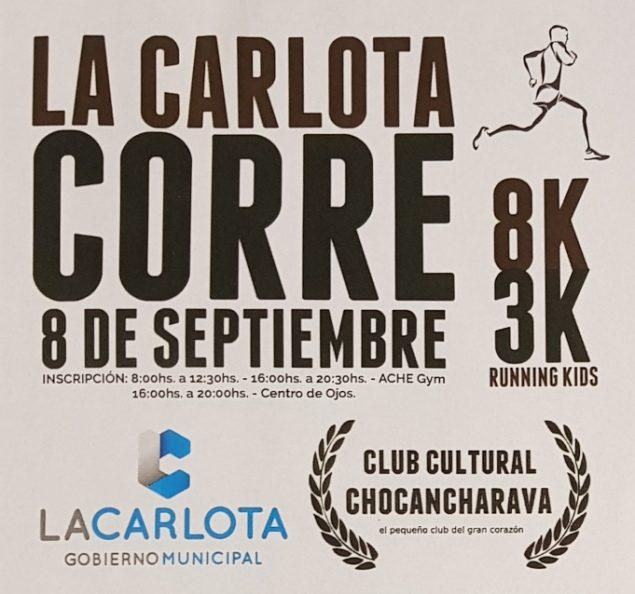 """Se realizará el lanzamiento oficial de """"La Carlota Corre"""""""