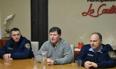 Reunión de seguridad en La Cautiva
