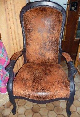tissu ameublement fauteuil imitation