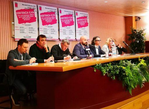"""Ilva Taranto, Landini (Cgil) boccia la """"politica dei ricorsi"""""""