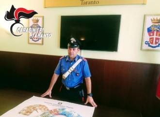 Taranto, blitz dei carabinieri in via Plinio. Quattro arresti