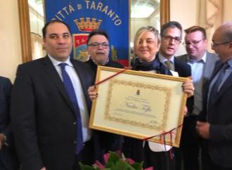 Nadia Toffa è cittadina di Taranto